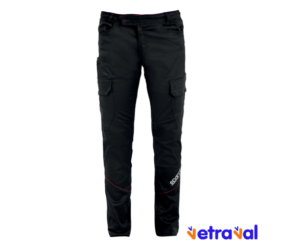 Pantalón Sparco Boston Negro