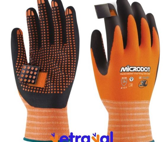 Guante Microdot (12 pares)