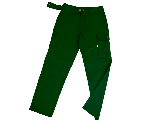 Pantalón Multibolsillos WAY Verde Botella