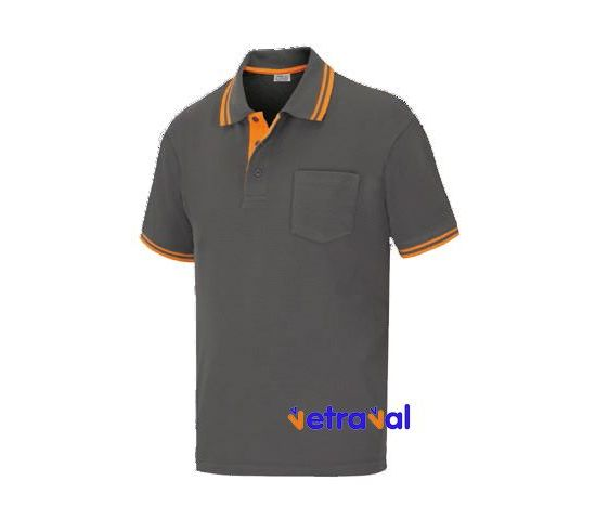Polo unisex ELITE STRETCH bicolor