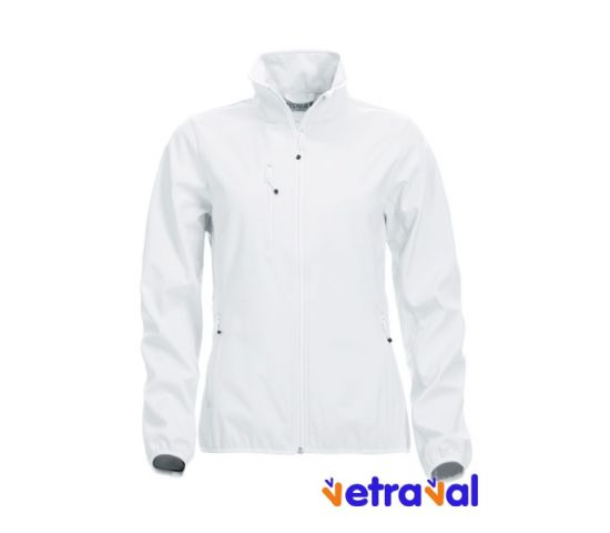 Chaqueta softshell ladies clique color bco