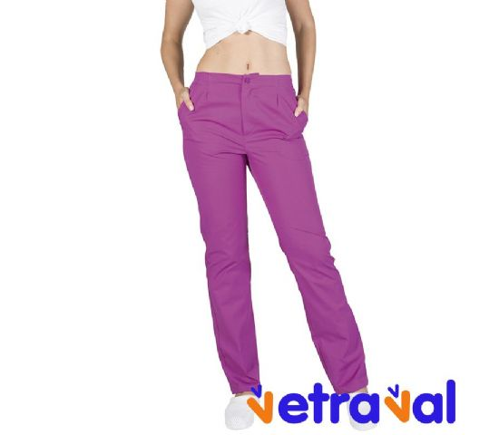 Pantalon-pijama-sanitario-color-malva